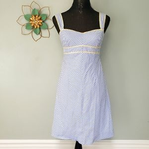 90s Vintage lilly pulitzer striped summer dress